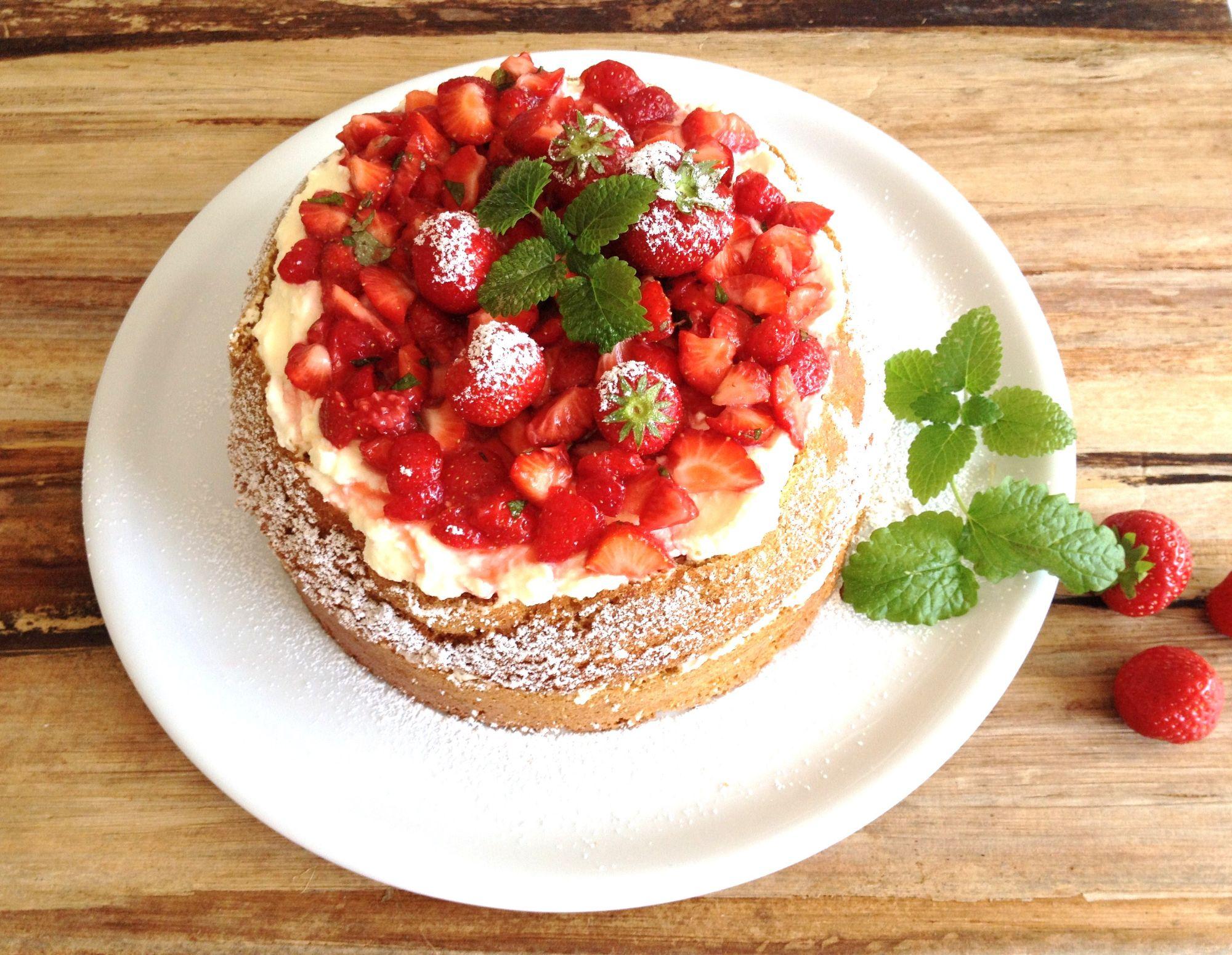 Süße Erdbeerzeit